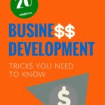 Ebook cover - 20 Business Development Tricks